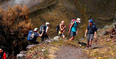 Huari to Chacas trekking