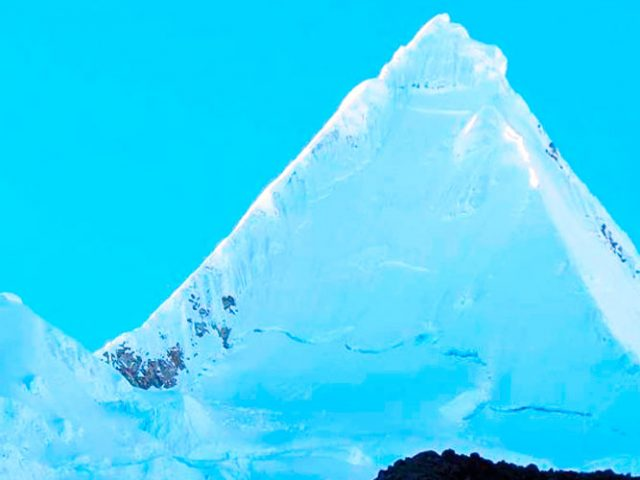 Cedros Alpamayo trekking