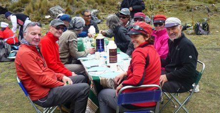 Combined Huayhuash Trekking