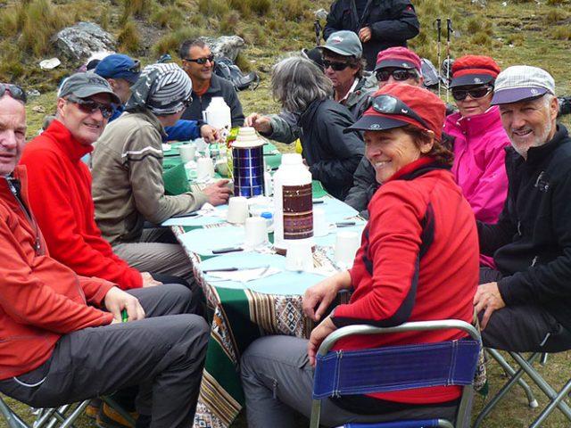 Combined Huayhuash Trekking + Diablo Mudo Climbing – 11 Days