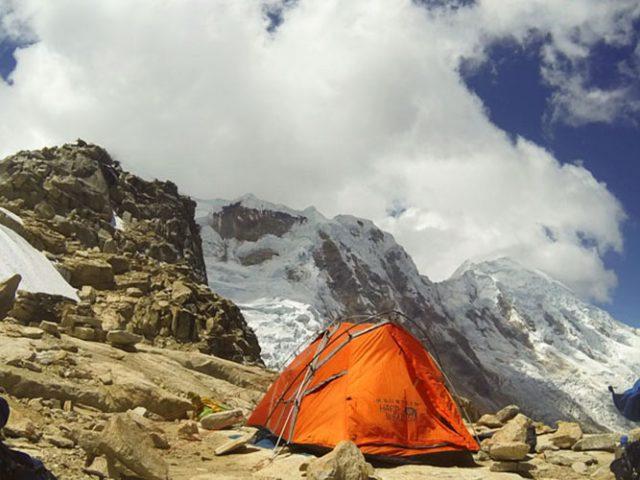 Climbing Tocllaraju (6035m – 19794ft)